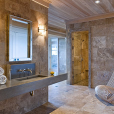 Contemporary Bathroom by Mags Concrete Works