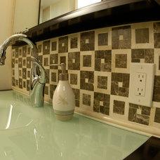 Traditional Bathroom by Aura Design Build