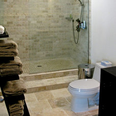 Modern Bathroom by VV Contracting, Inc