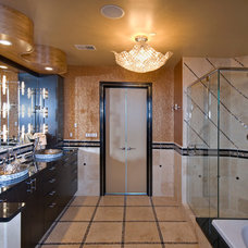 Eclectic Bathroom by Interiors International, Inc.