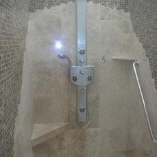 Contemporary Bathroom by Tervola Designs