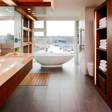 contemporary bathroom by capsuledesigns