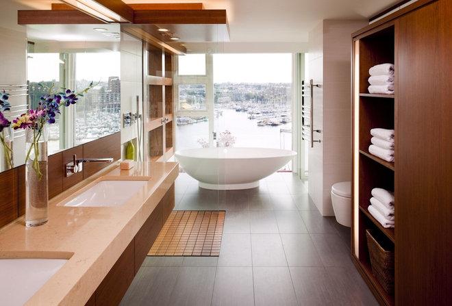 Contemporary Bathroom by capsuledesigns