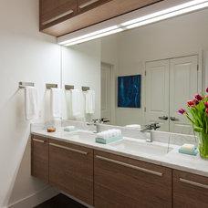 Contemporary Bathroom Condo, Washington DC