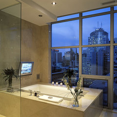 contemporary bathroom by Peter A. Sellar - Architectural Photographer