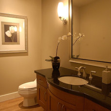 Traditional Bathroom by Synthesis Design Inc.