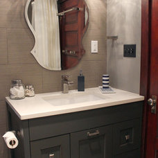 Contemporary Bathroom by Lauren Mikus