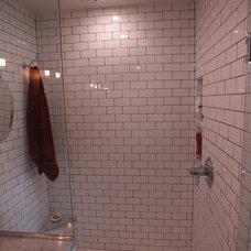 Craftsman Bathroom by True Form Design and Building Inc.