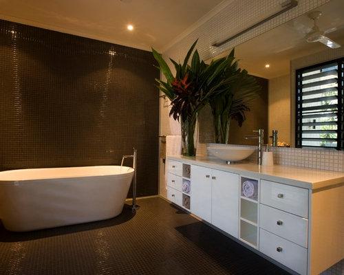 Foton och badrumsinspiration för exotiska en-suite badrum, med ...