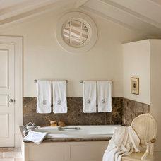 Traditional Bathroom by Charles Spada Interiors