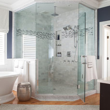 Traditional Bathroom by Hartley & Hill Design, LLC