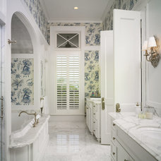Traditional Bathroom by Cooper Johnson Smith Architects and Town Planners