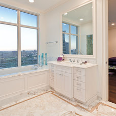 Traditional Bathroom by The Residences at The Ritz-Carlton, Dallas