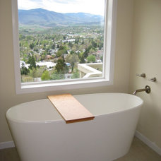 Modern Bathroom by Conscious Construction Inc.