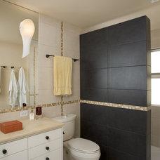 Mediterranean Bathroom by Rhodes Architecture + Light