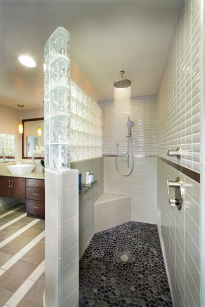 Contemporary Bathroom by DreamBuilders Home Remodeling