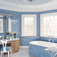 Traditional Bathroom by Anthony Baratta LLC