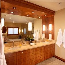 Contemporary Bathroom by Deep Creek Designs