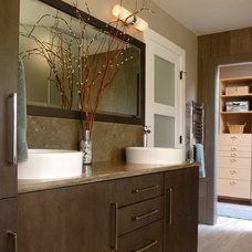 Contemporary Bathroom by Janel Campbell, CKD,CBD,CAPS/Neil Kelly Company