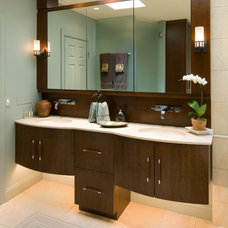 Asian Bathroom by Kitchens by Request