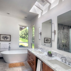 Contemporary Bathroom by Clayton Nelson & Associates