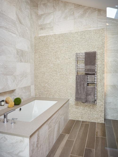 salle de bain contemporaine avec un sol en vinyl photos et id es d co de salles de bain. Black Bedroom Furniture Sets. Home Design Ideas