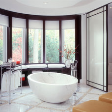 Contemporary Bathroom by alene workman interior design, inc