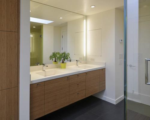 saveemail - Bamboo Vanity Bathroom