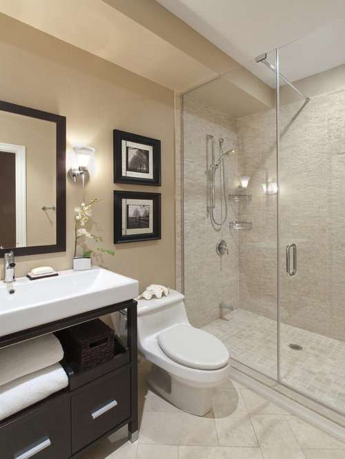 Simple bathroom designs houzz for Bathroom ideas easy