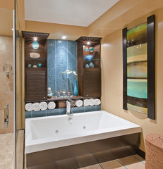 modern bathroom by Avalon Interiors
