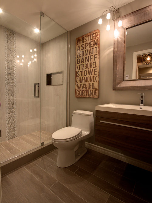 Contemporary Bathroom Idea In Toronto Part 17
