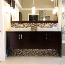 Contemporary Bathroom by BeautifulRemodel.com