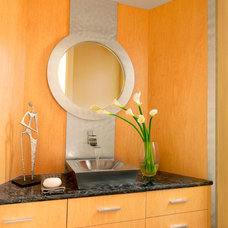 Contemporary Bathroom by Beck/Allen Cabinetry