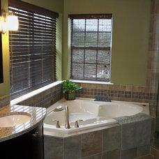 Contemporary Bathroom by Blue Tree Builders, LLC
