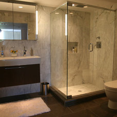contemporary bathroom by Jessica Boudreaux, Boudreaux Design Studio