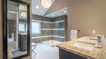 Contemporary Bathroom by Assurance Construction LLC in South New Jersey