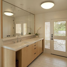 Contemporary Bathroom by Canyon Construction