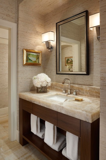 Contemporary Bathroom by CBI Design Professionals, Inc.