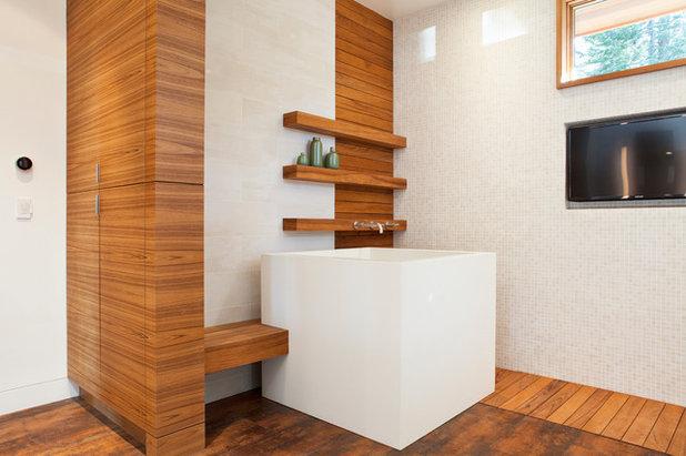 Une petite salle de bains avec baignoire ? C\'est possible !