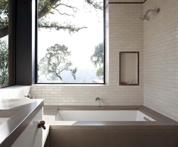 Contemporary Bathroom by Concreteworks
