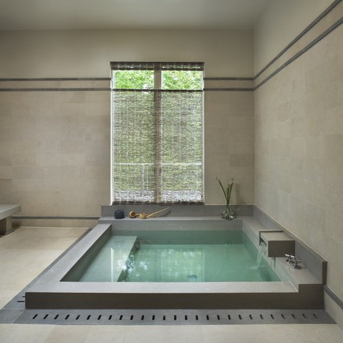Superior Inspiration For A Contemporary Japanese Bathtub Remodel In New York