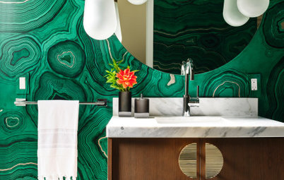 21 Bathrooms That Rock a Bright Colour Palette