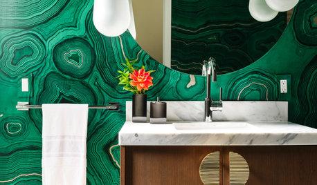 21 Bathrooms That Rock a Bright Colour Palette
