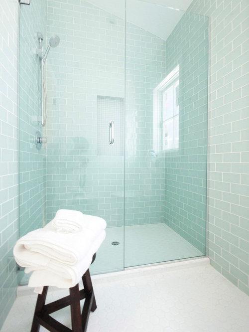 Aqua Tile Home Design Ideas Pictures Remodel And Decor