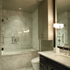 contemporary bathroom by Cravotta Interiors
