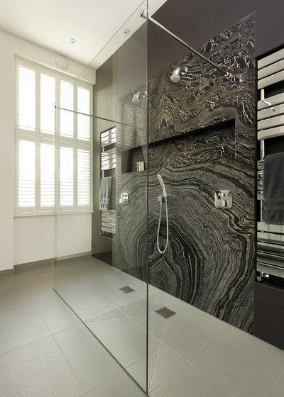 Contemporaneo Stanza da Bagno Contemporary Bathroom