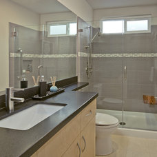 Contemporary Bathroom by Custom Kitchens by John Wilkins Inc