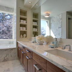 contemporary bathroom by DEKORA Staging Inc