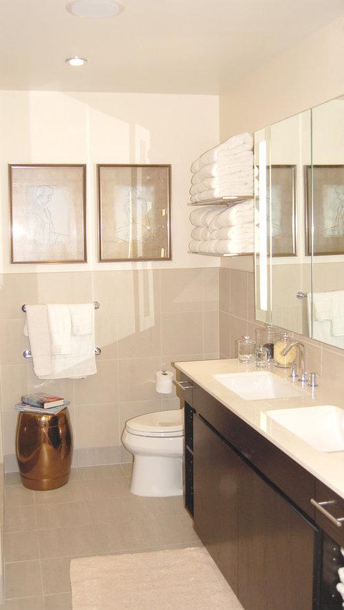 Storage Above Toilet