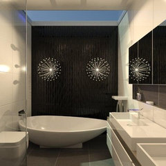 contemporary bathroom by design4space